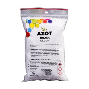 AZOT - NH4NO3 50 g (CZYSTY DO 99,9%)