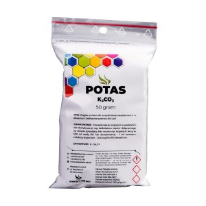 POTAS - K2CO3 50 g (CZYSTY DO 99,9%)