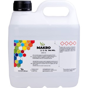 MAKRO bez NO3 - 2000 ml  (PALETKI)